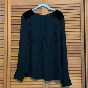 Ann Taylor Black dress shirt.
